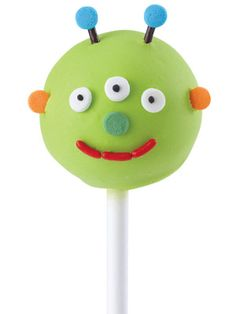 Martian Cake Pop - how cute are these?!