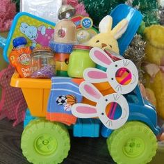 The Perfect Easter Basket for Baby boy (: