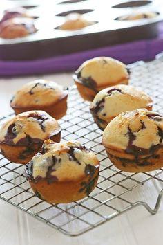Blueberry Muffins with Greek Yogurt - Ingredients, Inc.