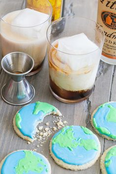 Winter Olympics: World Cookies & White Russians!