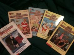 '5 Books The Baby - Sitters Club  ' is going up for auction at  7pm Sat, Sep 7 with a starting bid of $4.