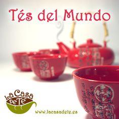 Selección de tés del mundo de La Casa de Té