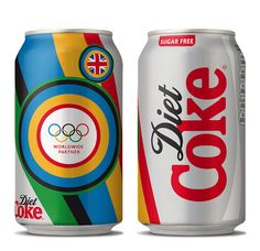 London Olympics Diet Coke