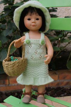 Tuto robe et chapeau pour poupée Marietta de 36cm