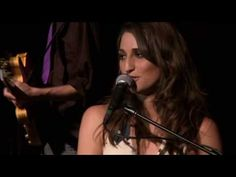 Sara Bareilles - Love on the Rocks Live. I love this woman. Sara is in a class of her own.....