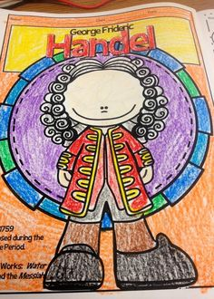 Mrs. King's Music Room: Coloring Composers