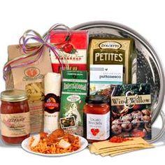 Italian Gift Basket With Keepsake Colander  $79.99 #pintowingifts