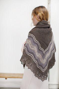 quill shawl by jared flood via brooklyntweed