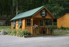 Small Cabins Tiny Houses | Shawnee Structures Cabins