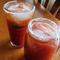 famous michelada, juice plus, michelada recip, ice cubes, joe famous, drink, fun recip, sound interest, hot sauces