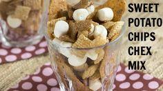 Sweet Potato Chips Chex Mix