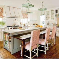white kitchen, design interior, lantern, traditional kitchens, light fixtures, colorful kitchens, kitchen design, kitchen island, hood