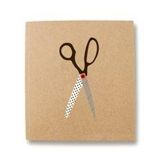 Ask Alice Scissor Sketch Book