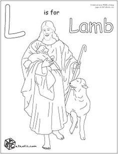 catholic school week on pinterest 17 pins Catholic Alphabet Coloring Pages Printable  Catholic Abc Coloring Book