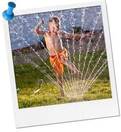 Outdoor Water Games.  Great game ideas & instructions.  Perfect for hot summer days.  Games for kids to play outdoors.   Fun kids birthday party activities.  Summer Party Supplies