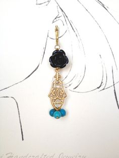 Chandelier Earring by Hibiscus03 on Etsy, $35.00