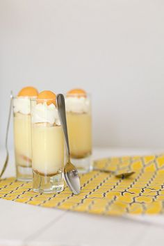 banana pudding parfaits