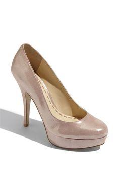 Nude heels. Yep.