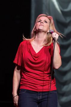 She's in love with singing. Trisha Yearwood performs on March 26 in Austin, Texas