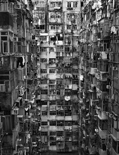 """Peter Steinhauer   Singapore        """"Taikoo Windows, Hong Kong - 2009""""   Part of book project entitled """"Hong Kong - Surface Unseen""""     Biography: Peter Steinhauer's photographs are both works of silence and works full of life. Since 1993 he has been documenting the many facets of Asian cultures."""