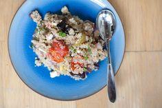 olive quinoa salad!