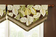 Design idea for window treatment Creative Window Design Combinations!   Decorating Den Interiors Blog – Decorating Tips  Design