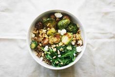 Cheesy Quinoa Bowl / une-deux senses