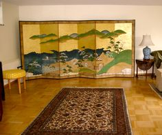 My Byobu, pair of Edo period Folding Screens.
