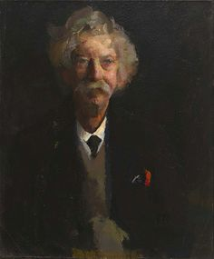 Portrait of a Man, ca. 1923-1926, William H. Johnson, oil on canvas, 28 1/8 x 23 1/8 in. (71.5 x 58.8 cm), Smithsonian American Art Museum, Gift of the Harmon Foundation, 1967.59.683
