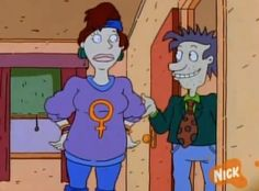 And Phil and Lil's mom's sweater, just like, in general. | 17 Times Cartoons Encouraged You To Be A Feminist