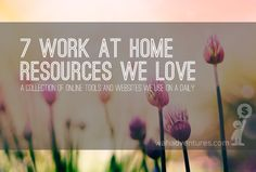 resources for working from home