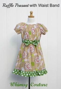 Whimsy Couture Sewing Pattern/Tutorial  Ruffle by whimsycouture, $9.00