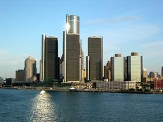 waterfront from Canada- MY DETROIT