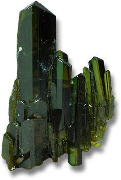 Epidote Crystals