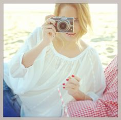 Capturing the moment in a sheer top from #LCLaurenConrad. #Instagram #Kohls