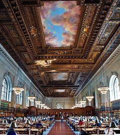 New York Public Library Reading Room...