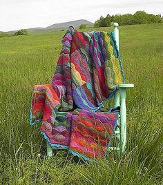 Ravelry: Lizard Ridge pattern by Laura Aylor
