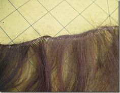 How to weft your own mohair for doll wigs
