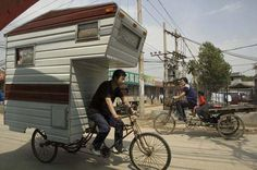 tiny homes, bicycles, trailers, campers, wheel