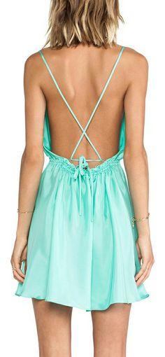 Mint cross cross dress