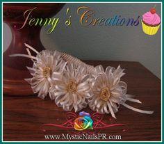 #Baby #bows & #girl #headbands for #girls by Jennifer Perez. :::::::::::::::::::::::::: #Lazos, #cintillos y #diademas para #niñas.
