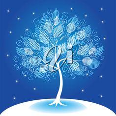iCLIPART - Decorative tree