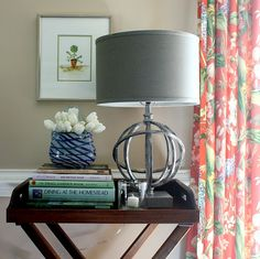 Side Table Styling Tips - Home Decorating - Bright Bold and Beautiful