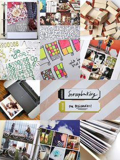 Scrapbooking for beginners -- all this makes me miss scrapbooking
