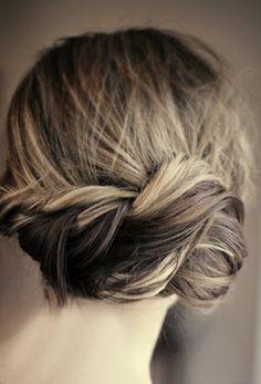 bridesmaids, bridesmaid hair, braid hairstyl, braids, pretti twist, twist braid, beauti, hair style, wedding hairstyles