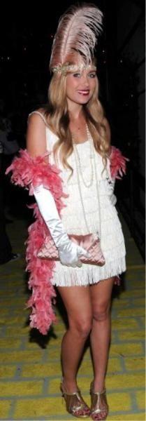 simple last minute costume: flapper
