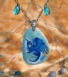 The Heart of Ice - stone painting miniature by AlviaAlcedo.deviantart.com on @deviantART