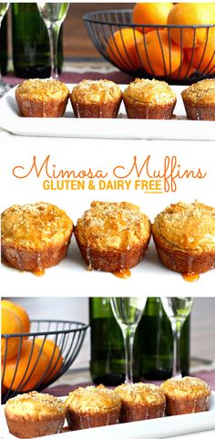 These Mimosa Muffins