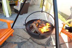 Fire pit by Cowboy Cauldron #CousinsOnCall