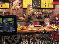 Must Watch TV:    Nadia G's Bitchin' Kitchen on Food Channel.....new twist to cooking shows!